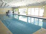 Indoor Pool at Spinnaker Fitness Center