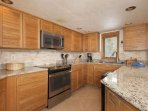 Fully Appointed Remodeled Kitchen With All New Appliances!