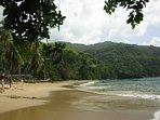 Peace and quiet in Castara Big Bay