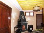 salon cheminée, chauffage gaz télé led 102 cm sat Astra,Nilsat DVD films