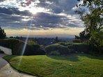 Overlooking Pasadena.