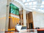 Entrance lobby with 24 hour Security service