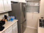 Stainless Steel French Door Refrigerator and Freezer