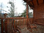 Enjoy your morning cup of coffee on the back deck, or relax in the hottub after a long day.