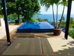 Spacious Rooftop Terrace With Sweeping Ocean Views.