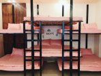 double beds for 12 people