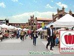 Feria Mercado de Productores en Matadero Madrid una vez al mes