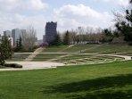 Parque Tierno Galván al lado de casa