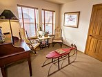 Loft with Desk, Reading Nook and Option Queen Air Mattress