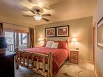 Master suite with King bed on main level