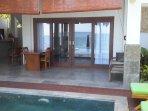 View of Pool room. Bedroom 2....