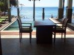 Pool and sea views. Bedroom 2....