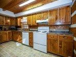 Alpine Cabin Kitchen