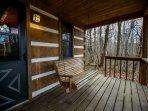 Alpine Cabin Porch Swing