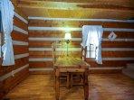 Alpine Cabin Dining Area