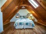 Alpine Cabin Bedroom 1