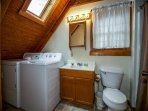 Alpine Cabin Bathroom