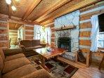 Alpine Cabin Living Room