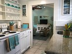 ENJOY THE  WELL-APPOINTED UPDATED 1940'S KITCHEN