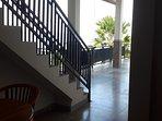 Corner room view of terrace. Bedroom 5.....