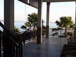 View from corner room terrace. Bedroom 5.....