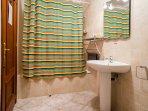 En-Suite Bathroom with Over Shower