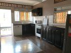 Specious, clean and well equipped kitchen