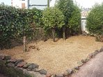 Front garden with new shingle