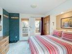 Viking Lodge 315 - you enter the condo into the queen bedroom.