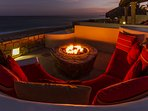 Fire Pit by night