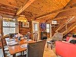Cozy Log Cabin w/Patio Near Ellicottville & Skiing