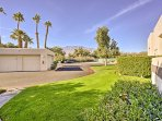 The property is just 10 minutes from Palm Springs, ensuring you'll have plenty to do and see during your stay!