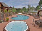 Find a pool or  hot tub to have all to yourself