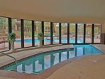 Indoor - Outdoor pool at the clubhouse