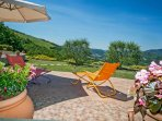 Property surrounded by the hills of Le Marche
