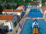 Nearby Public Lap Pool and Kiddie Pool