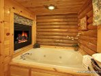 Jacuzzi Tub in Bathroom at A Lover's Secret