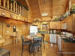 Kitchen and Dining at A Lover's Secret