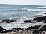 Surfing at Bramble Lane in Nova Scotia