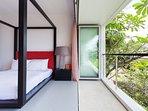 Villa Sammasan  - Guest bedroom two outlook
