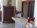 Lobby and reception. Ground floor....