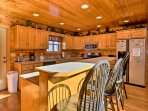 Whip up your favorite homemade recipe in the fully equipped kitchen.