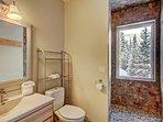 Queen suite full bath