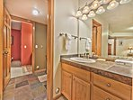 Private Sink for Bedroom 5 and Shared Jack-n-Jill Bathroom with a Tub/Shower