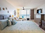 Clean and attractive beach front studio.