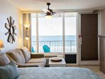 Relax and enjoy the oceanfront views from your studio.