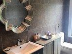 The Pear Tree Pensione loft bathroom