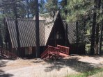 Holladay's Hideway: Nestled in the tall pines  of Alto just North of Ruidoso Nm