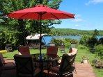 Cassiopée sur le lac Lovering