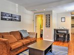 Experience history when staying at this 2-bed, 1.5-bath Baltimore townhome!
